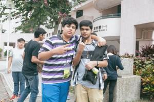 組員Yusuf(左)、學生助理Ali(右)